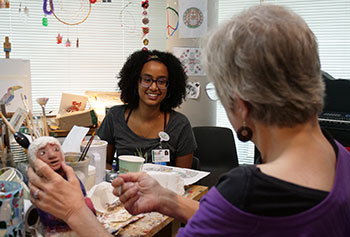 Volunteers bring a feeling of community to BBH.